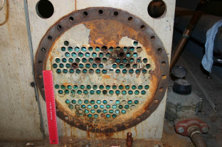 Corrosion engineering analysis of a heat exchanger
