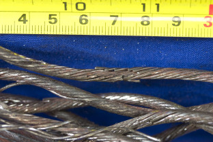 Failure Analysis of a Wire Rope - Multiple strand failure